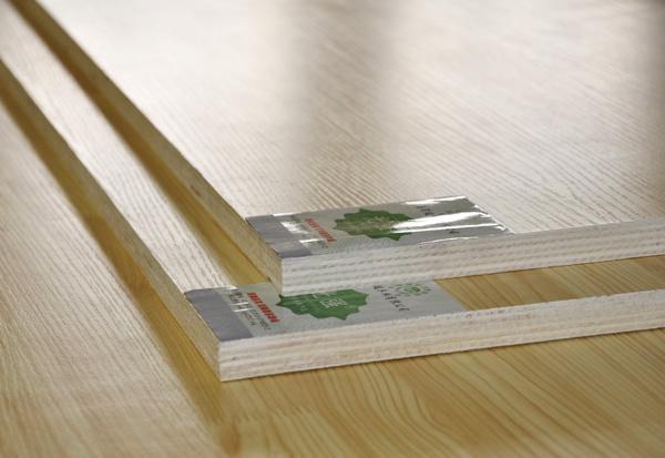 Melamine veneer plywood(Pine plug)
