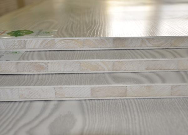 光强高档杨木芯木工生态板-直贴浮雕面(458)